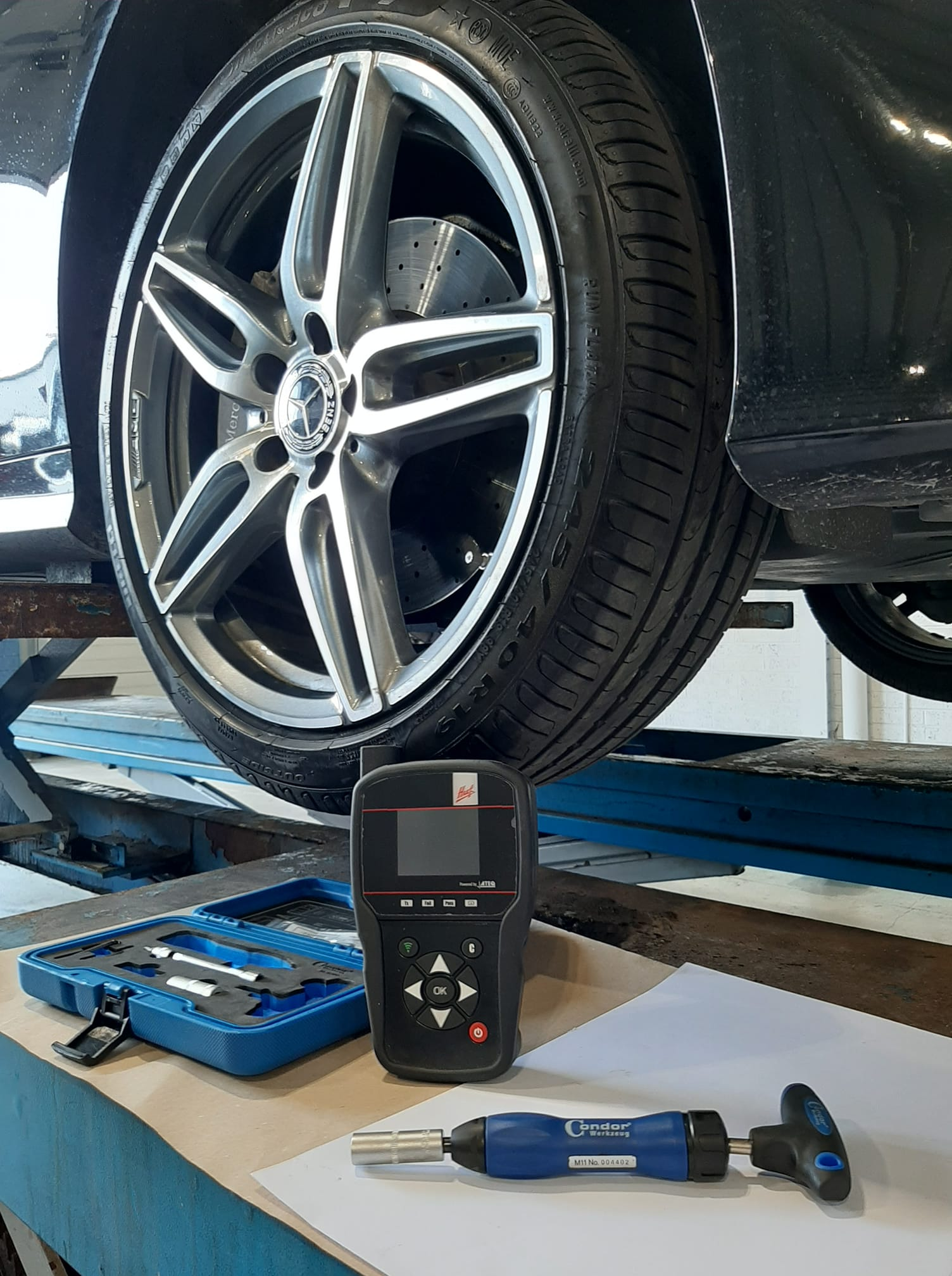Tyre pressure monitoring system TPMS